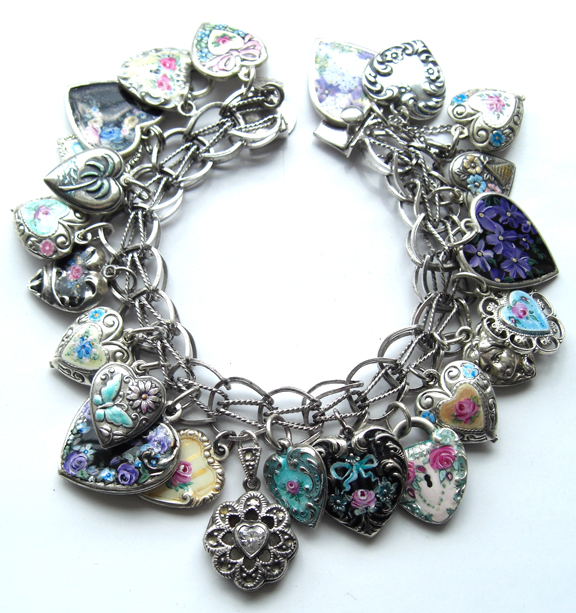 My heart charms bracelet