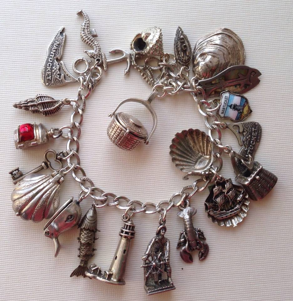 Echarmony Charm Bracelet Collection  Nantucket, Ma Charms