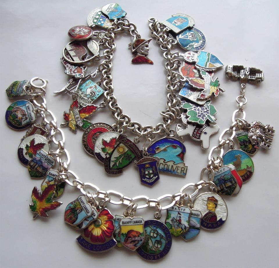 Echarmony Charms Collection · Echarmony Charm Bracelet Collection  Banff &  Canada Enamel Charms