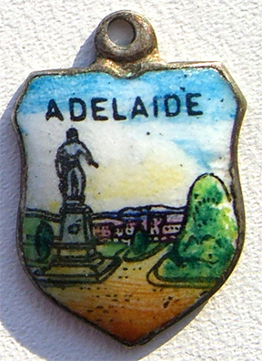 Adelaide, Australia - Travel Shield Charm