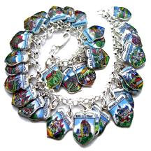 Shield Charm Bracelets