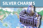 Vintage Silver Travel Charms