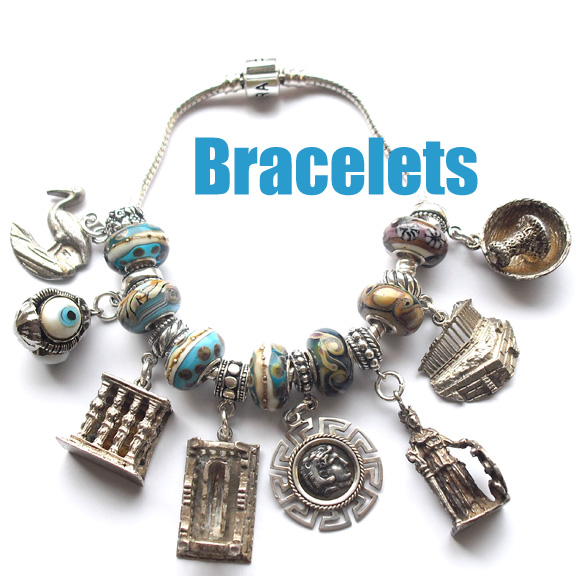 Bracelet charms from around the world