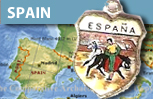 Spain Travel Charms